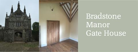 Building Restoration work at Bradstone Manor Gate House